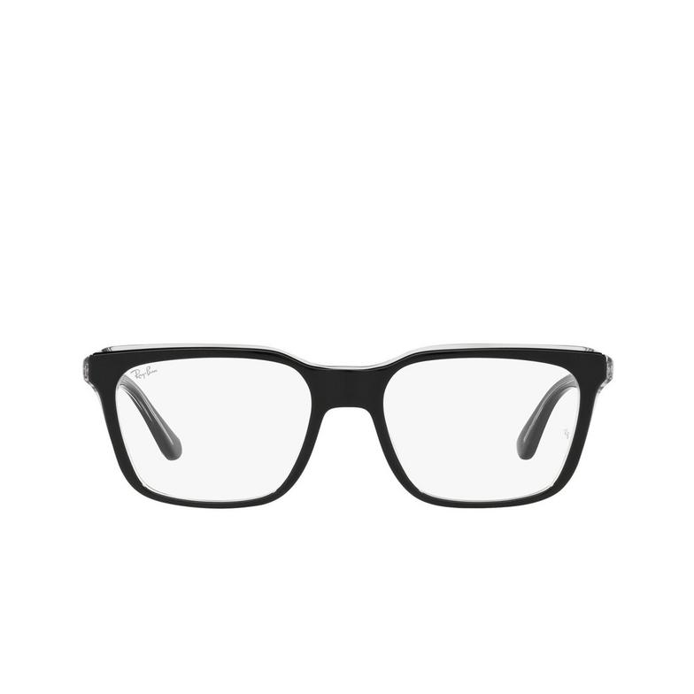 Ray-Ban® Rectangle Eyeglasses: RX5391 color Black On Transparent 2034.