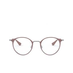 Ray-Ban® Eyeglasses: RX6378 color Gunmetal/turtledove 2907.