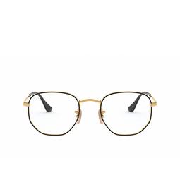 Ray-Ban® Eyeglasses: RX6448 color Black On Arista 2991.