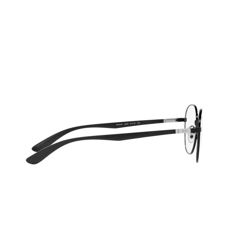 Ray-Ban® Square Eyeglasses: RX6461 color Black 2509.