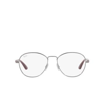 Ray-Ban® Irregular Eyeglasses: RX6470 color Gunmetal 2502.