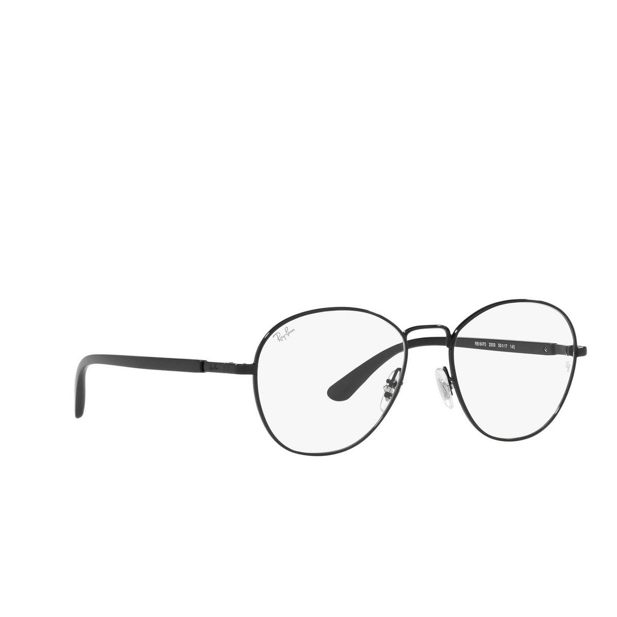 Ray-Ban® Irregular Eyeglasses: RX6470 color Black 2509.