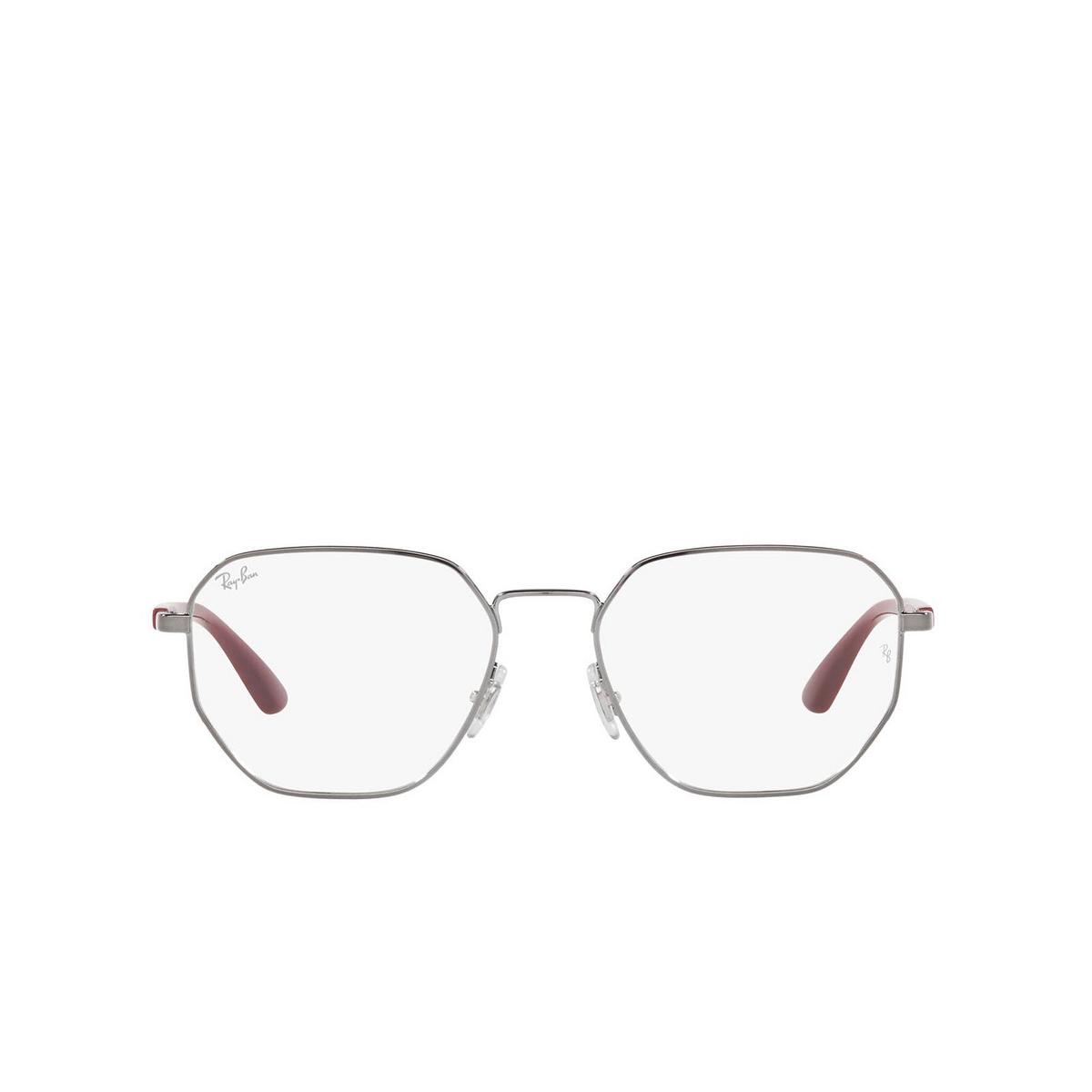 Ray-Ban® Irregular Eyeglasses: RX6471 color Gunmetal 2502.