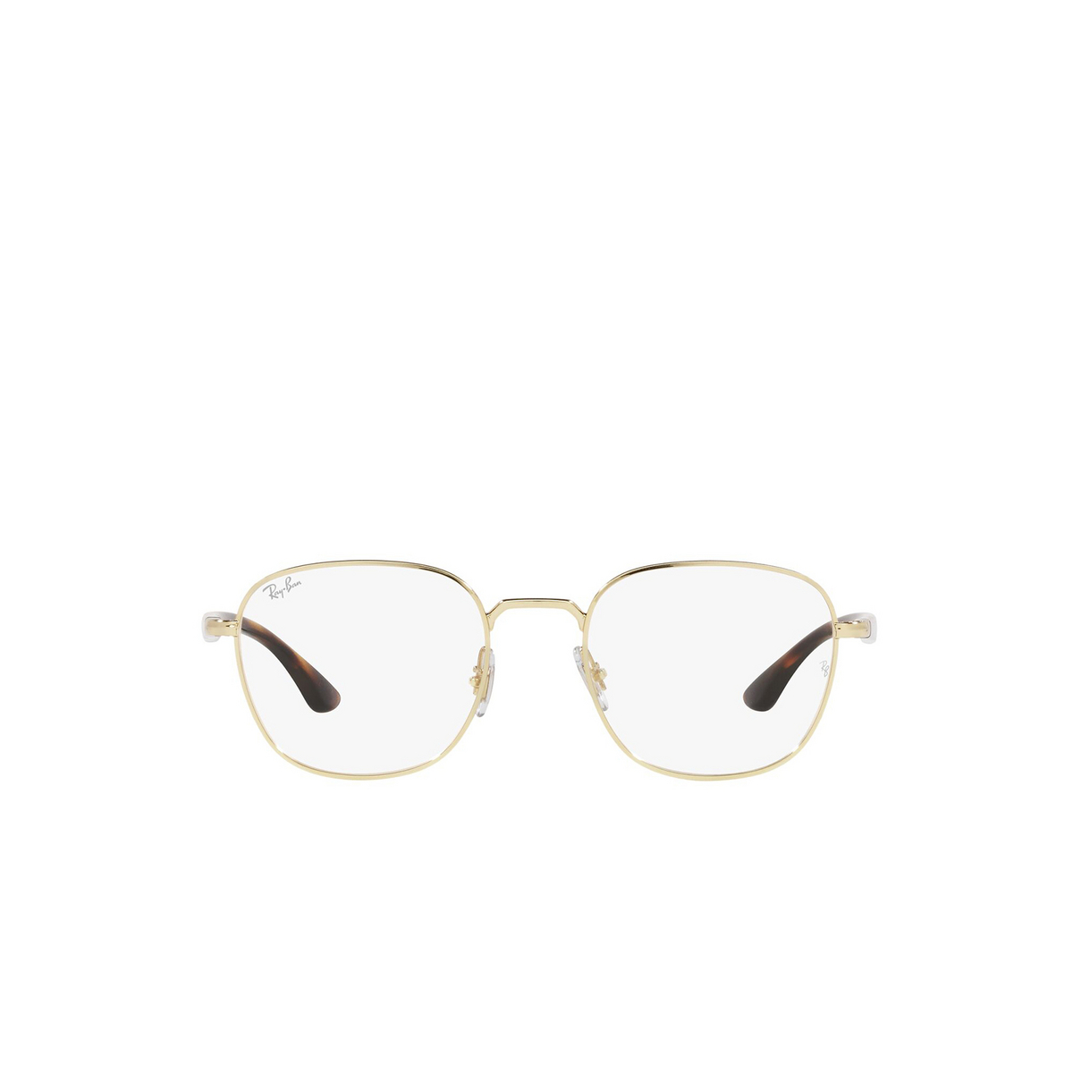 Ray-Ban® Square Eyeglasses: RX6477 color Arista 3119 - front view.