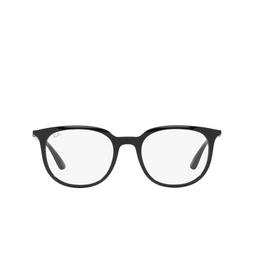 Ray-Ban® Eyeglasses: RX7190 color Black 2000.