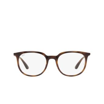 Ray-Ban® Square Eyeglasses: RX7190 color Havana 2012.