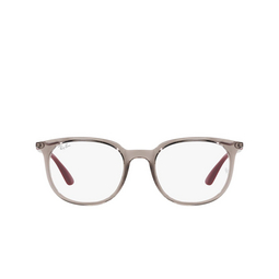 Ray-Ban® Eyeglasses: RX7190 color Transparent Grey 8083.