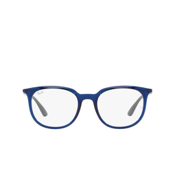 Ray-Ban® Eyeglasses: RX7190 color Transparent Blue 8084.