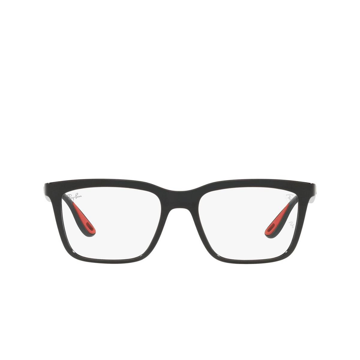 Ray-Ban® Rectangle Eyeglasses: RX7192M color Black F601.