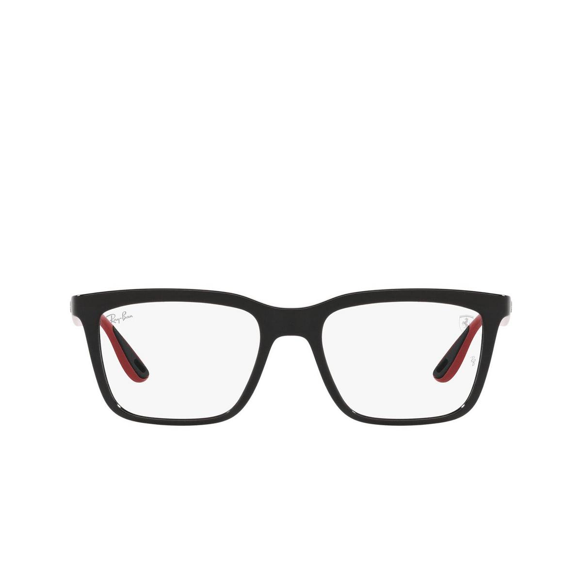 Ray-Ban® Rectangle Eyeglasses: RX7192M color Black F651.