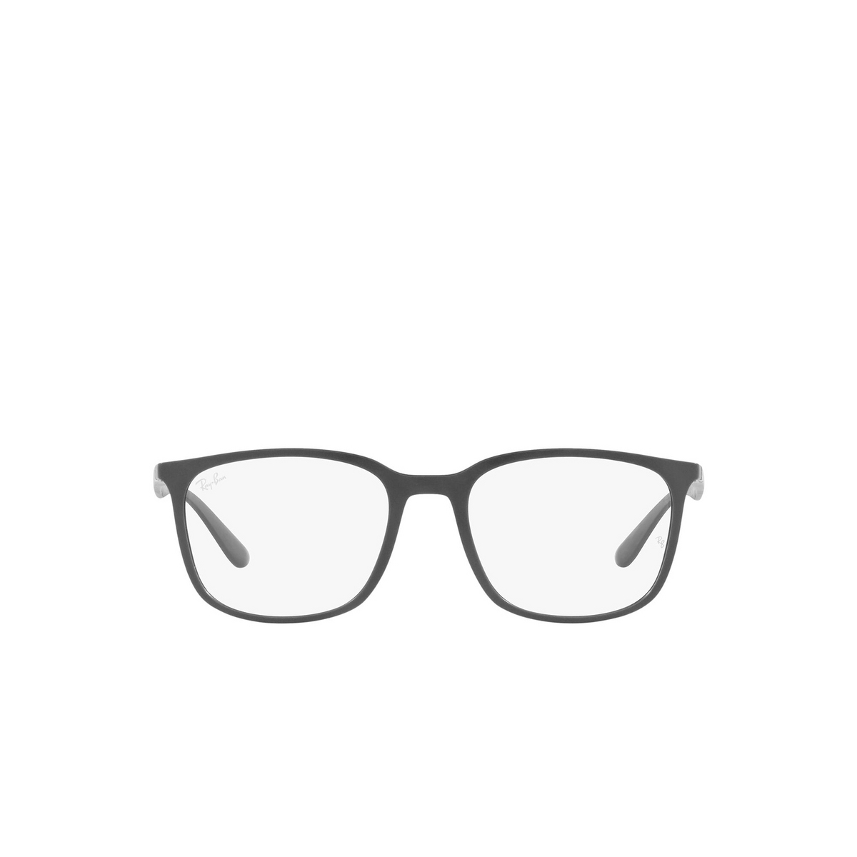 Ray-Ban® Square Eyeglasses: RX7199 color Sand Grey 5521 - front view.