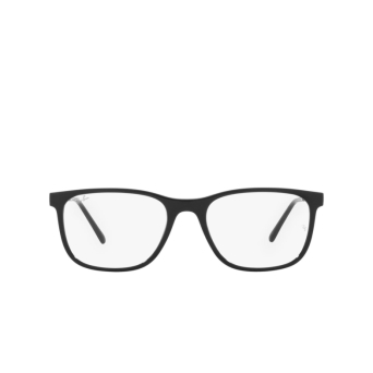 Ray-Ban® Square Eyeglasses: RX7244 color Black 2000.