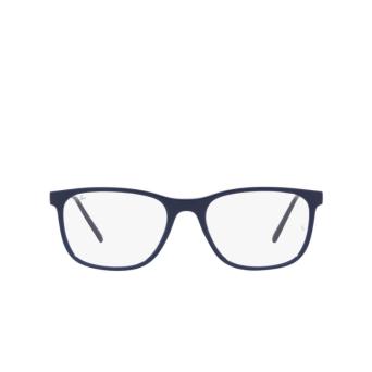 Ray-Ban® Square Eyeglasses: RX7244 color Blue 8100.
