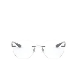 Ray-Ban® Eyeglasses: RX8766 color Shiny Gunmetal 1000.