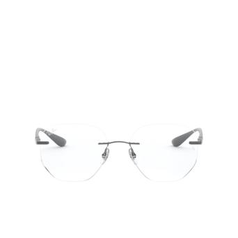 Ray-Ban® Irregular Eyeglasses: RX8766 color Shiny Gunmetal 1000.