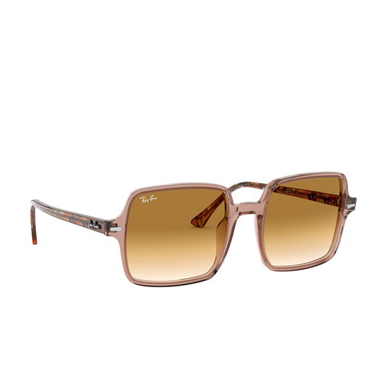 Ray-Ban® Square Sunglasses: Square Ii RB1973 color Transparent Light 128151.