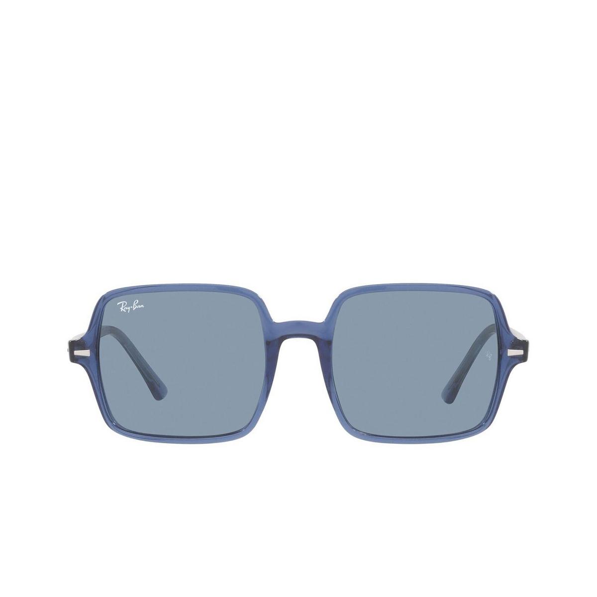 Ray-Ban® Square Sunglasses: Square Ii RB1973 color True Blue 658756.