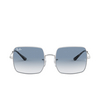 Ray-Ban® Square Sunglasses: Square RB1971 color Silver 91493F - product thumbnail 1/3.