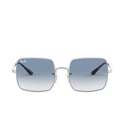 Ray-Ban® Square Sunglasses: Square RB1971 color Silver 91493F.