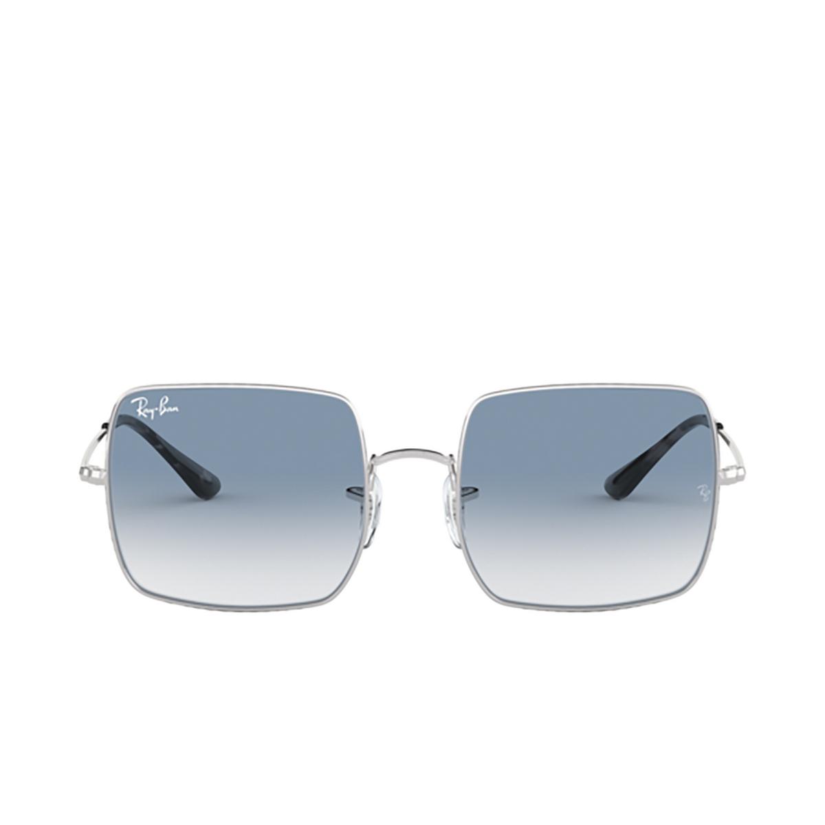 Ray-Ban® Square Sunglasses: Square RB1971 color Silver 91493F - 1/3.