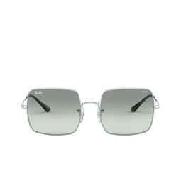Ray-Ban® Square Sunglasses: Square RB1971 color Silver 9149AD.
