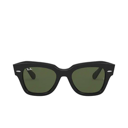 Ray-Ban® Square Sunglasses: State Street RB2186 color Black 901/31.