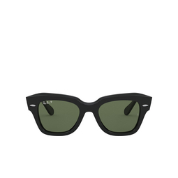 Ray-Ban® Square Sunglasses: State Street RB2186 color Black 901/58.