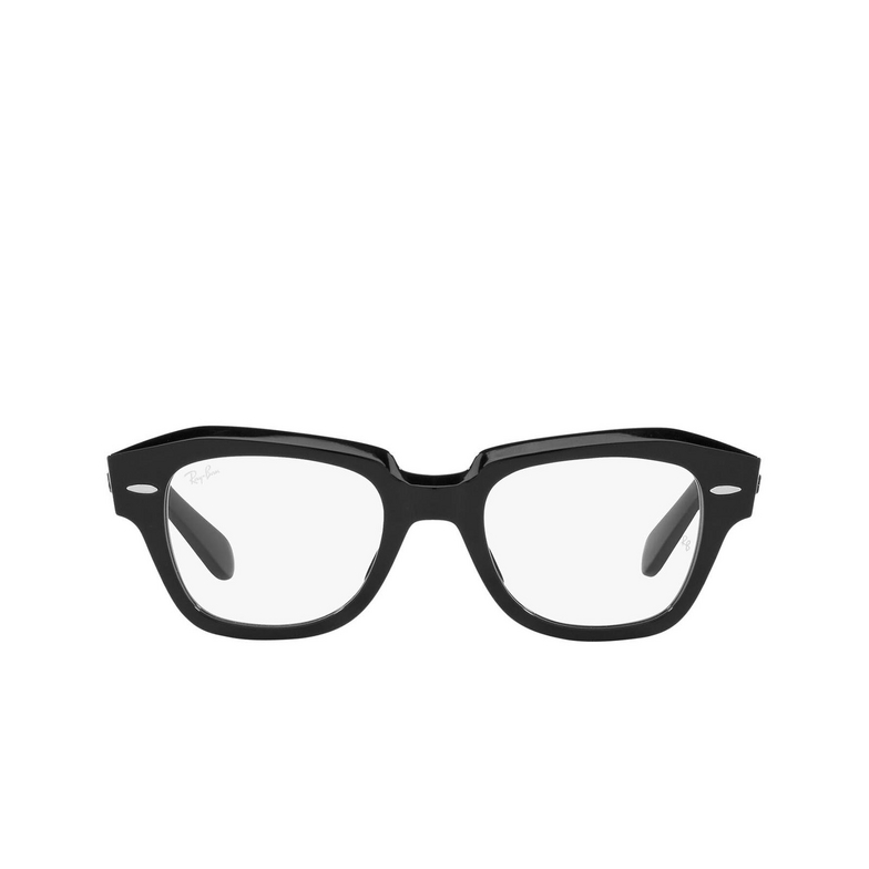 Ray-Ban® Square Eyeglasses: State Street RX5486 color Black 2000.