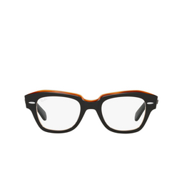 Ray-Ban® Eyeglasses: State Street RX5486 color Black On Transparent Brown 8096.