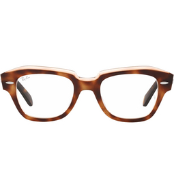 Ray-Ban® Eyeglasses: State Street RX5486 color Havana On Transparent Pink 8098.