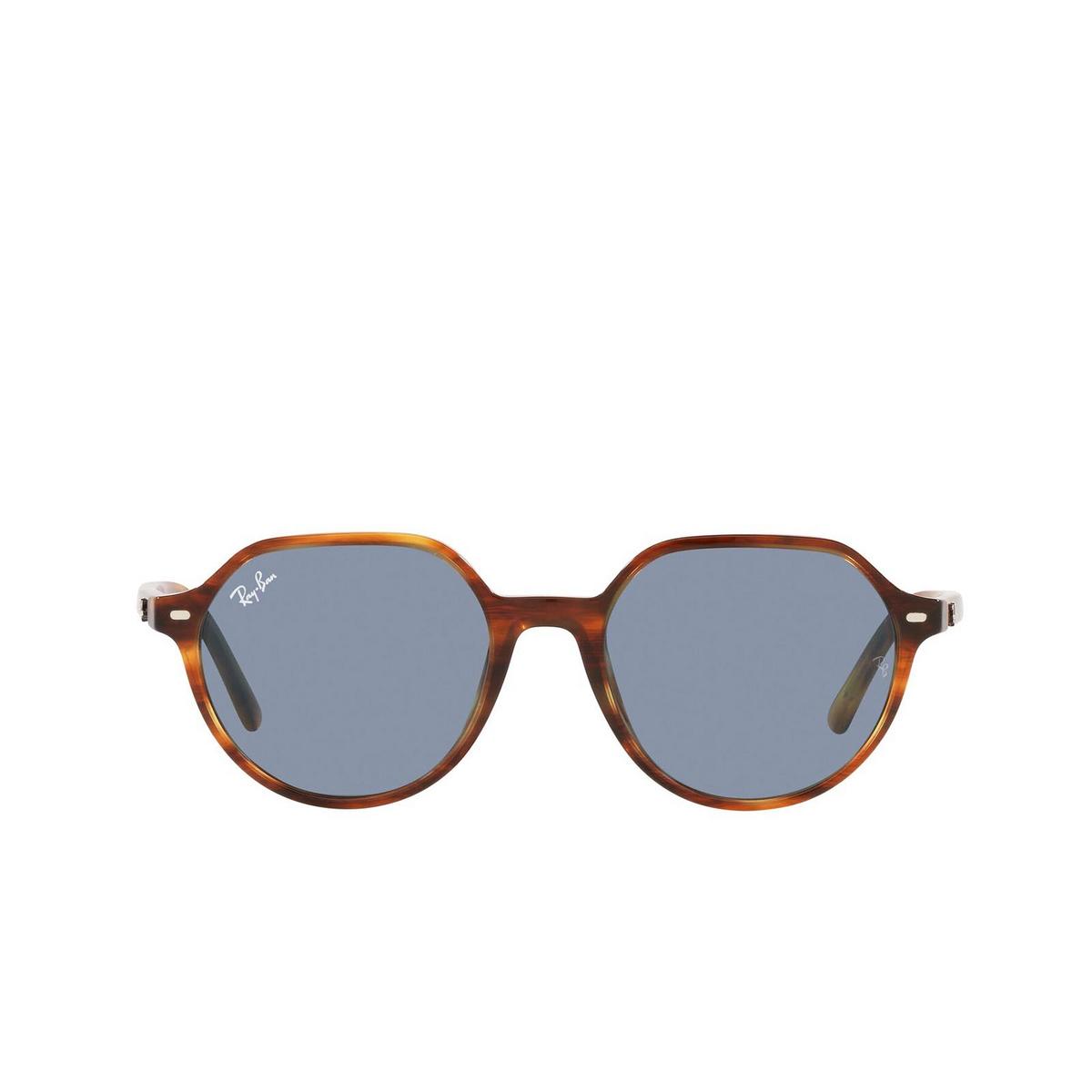 Ray-Ban® Irregular Sunglasses: Thalia RB2195 color Striped Havana 954/62.