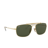 Ray-Ban® Square Sunglasses: The Colonel RB3560 color Arista 001 - product thumbnail 2/3.