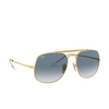 Ray-Ban® Square Sunglasses: The General RB3561 color Arista 001/3F - product thumbnail 2/3.