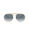 Ray-Ban® Square Sunglasses: The General RB3561 color Arista 001/3F - product thumbnail 1/3.