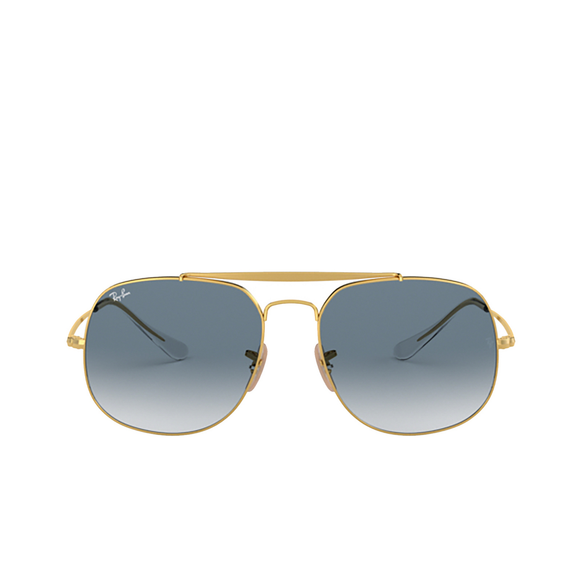 Ray-Ban® Square Sunglasses: The General RB3561 color Arista 001/3F - 1/3.