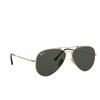 Ray-Ban® Aviator Sunglasses: Titanium RB8125M color Demi Gloss White Gold 9143 - product thumbnail 2/3.