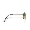 Ray-Ban® Aviator Sunglasses: Titanium RB8125M color Demi Gloss White Gold 9143 - product thumbnail 3/3.