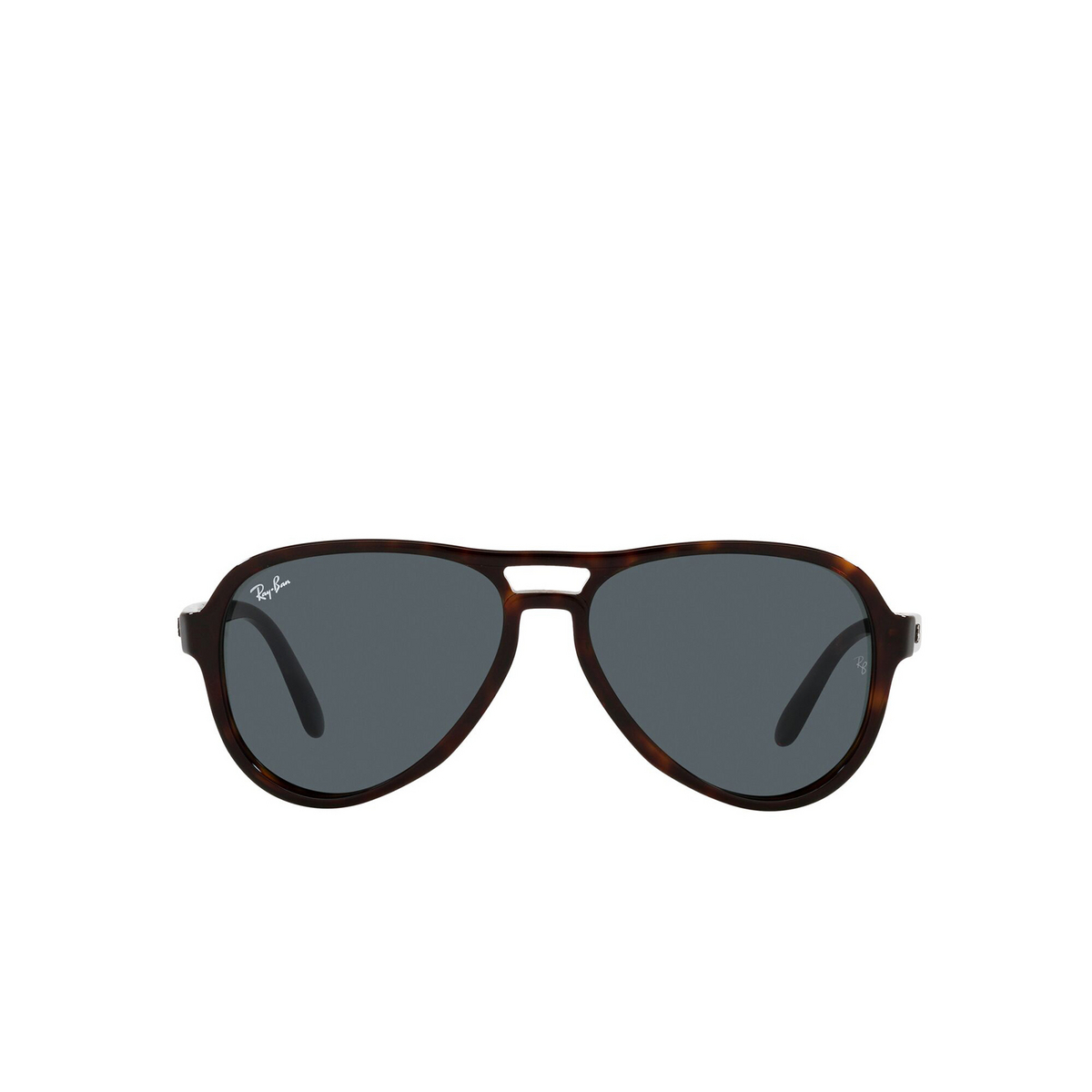 Ray-Ban® Aviator Sunglasses: Vagabond RB4355 color Havana 902/R5 - front view.