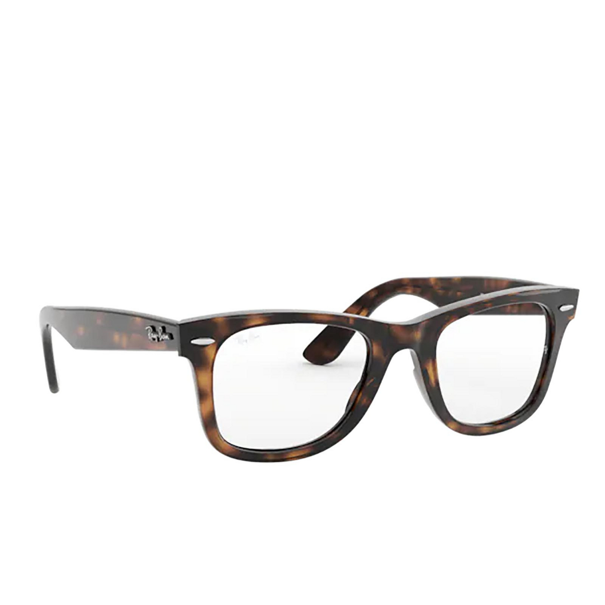 Ray-Ban® Square Eyeglasses: Wayfarer Ease RX4340V color Havana 2012.