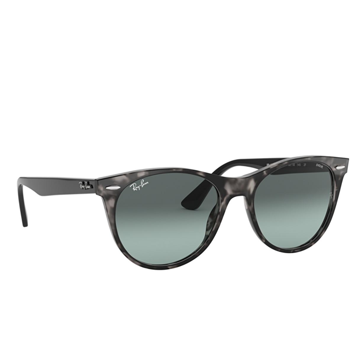 Ray-Ban® Square Sunglasses: Wayfarer Ii RB2185 color Grey Havana 1250AD - three-quarters view.