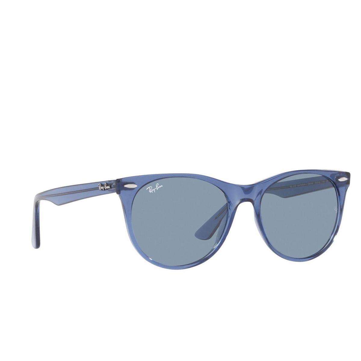 Ray-Ban® Square Sunglasses: Wayfarer Ii RB2185 color True Blue 658756.