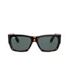 Ray-Ban® Square Sunglasses: Wayfarer Nomad RB2187 color Tortoise 902/R5 - product thumbnail 1/3.