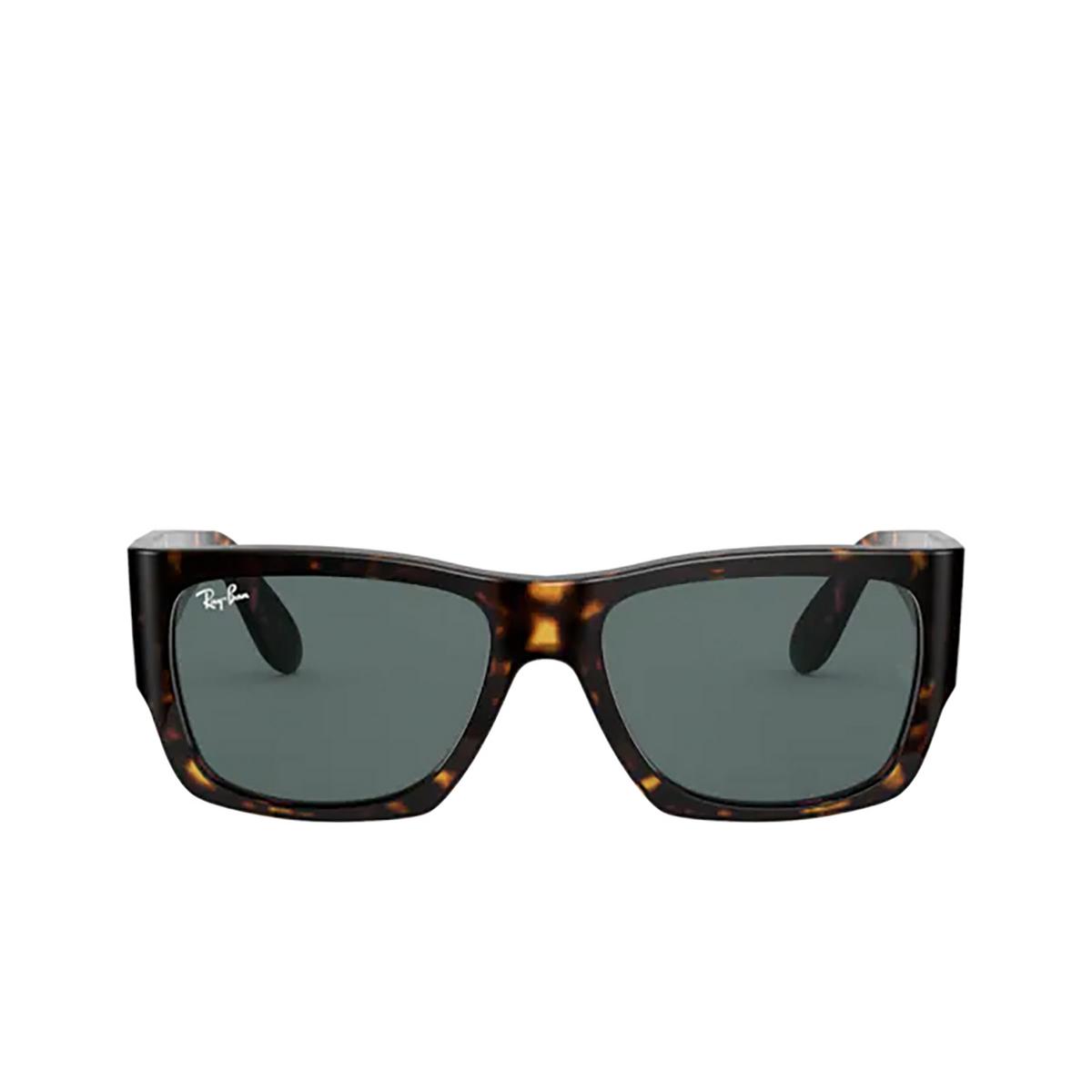 Ray-Ban® Square Sunglasses: Wayfarer Nomad RB2187 color Tortoise 902/R5 - 1/3.