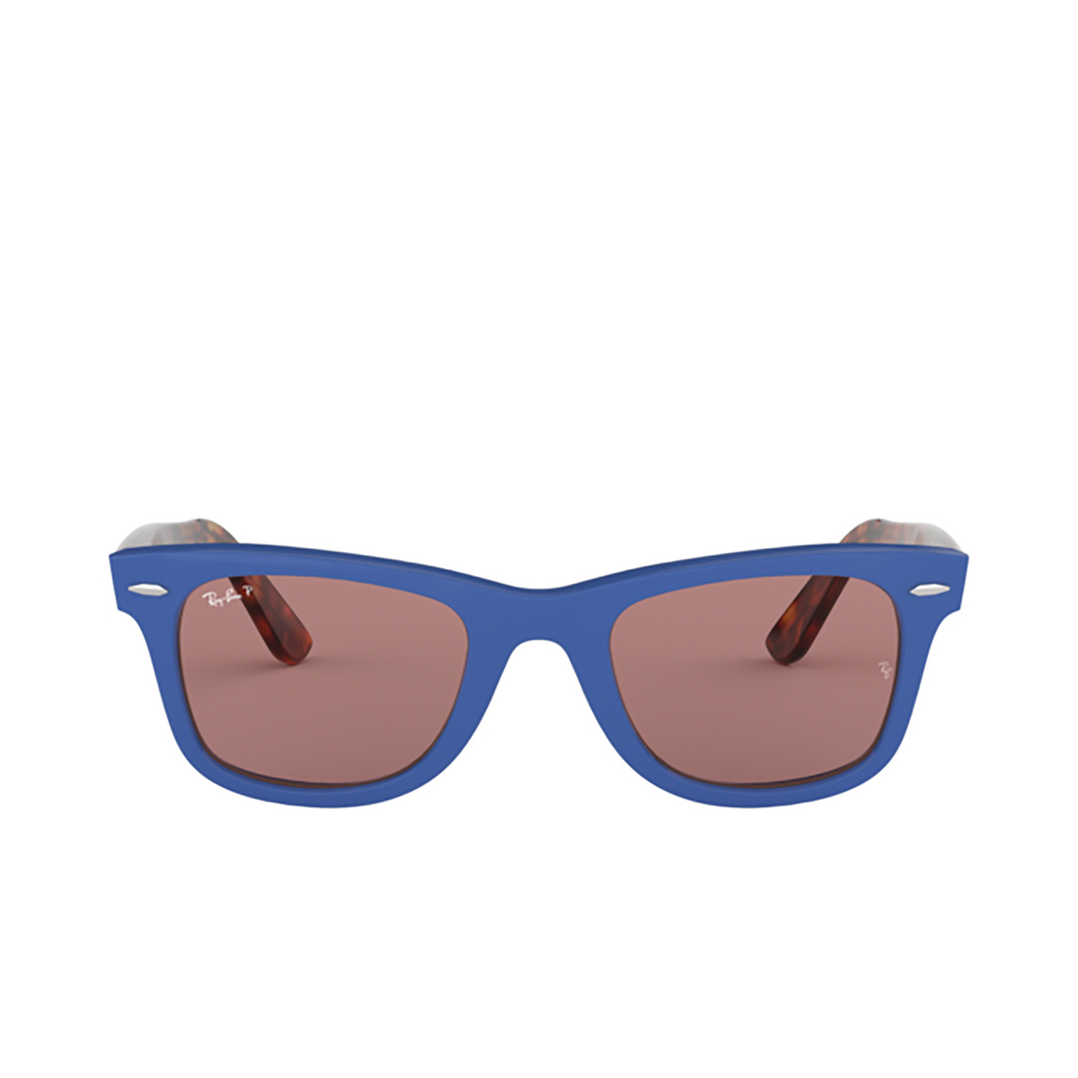 Ray-Ban® Square Sunglasses: Wayfarer RB2140 color Blue 1241W0.