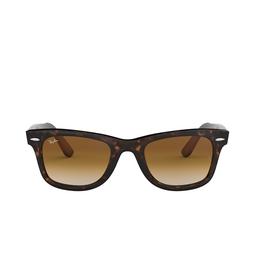 Ray-Ban® Square Sunglasses: Wayfarer RB2140 color Tortoise 902/51.