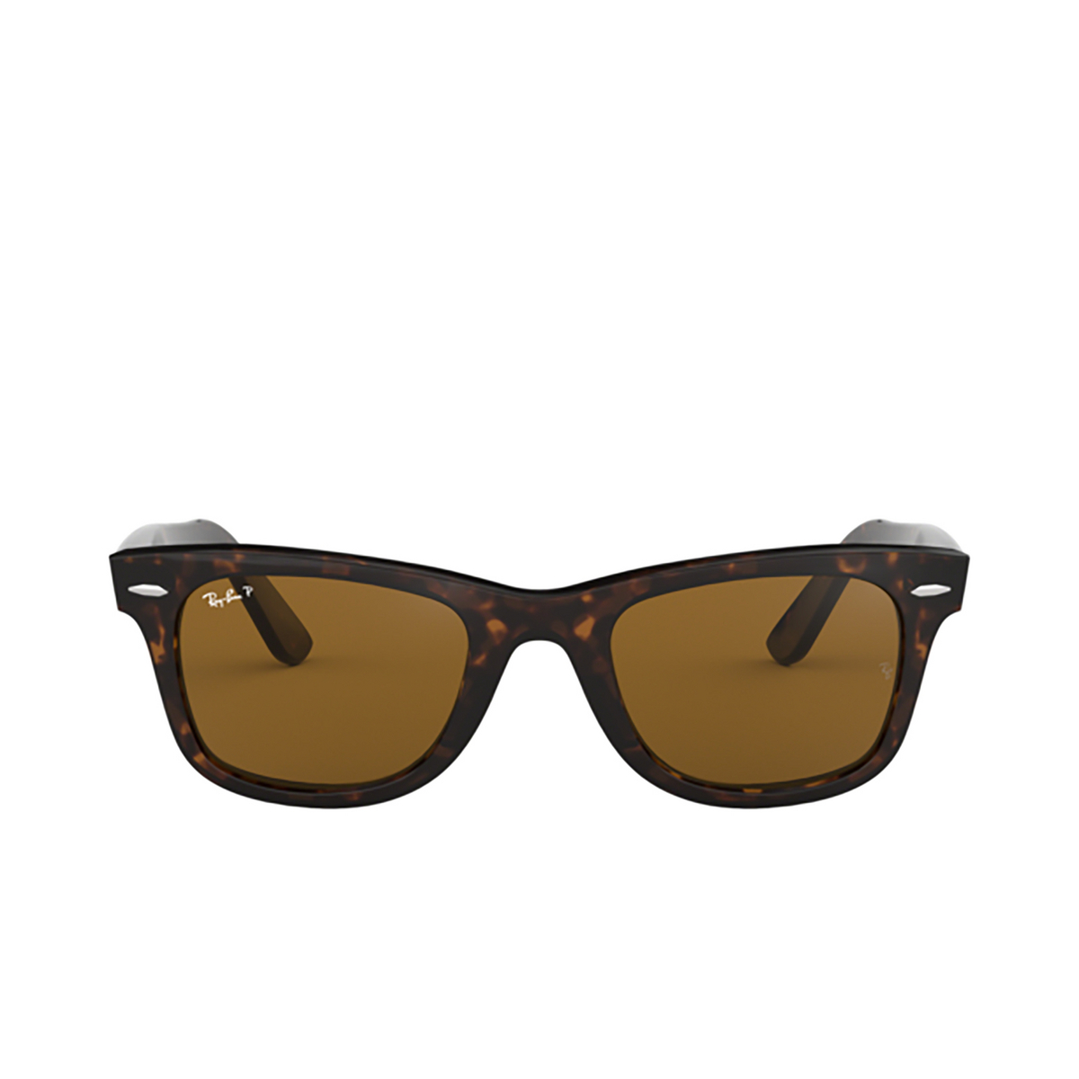 Ray-Ban® Square Sunglasses: Wayfarer RB2140 color Tortoise 902/57.