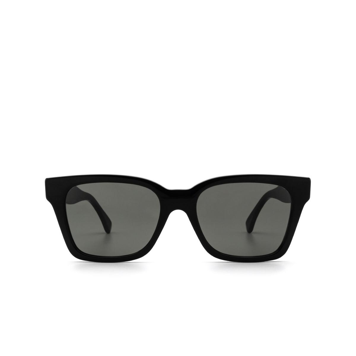 Retrosuperfuture® Square Sunglasses: America color Black C2N - front view.