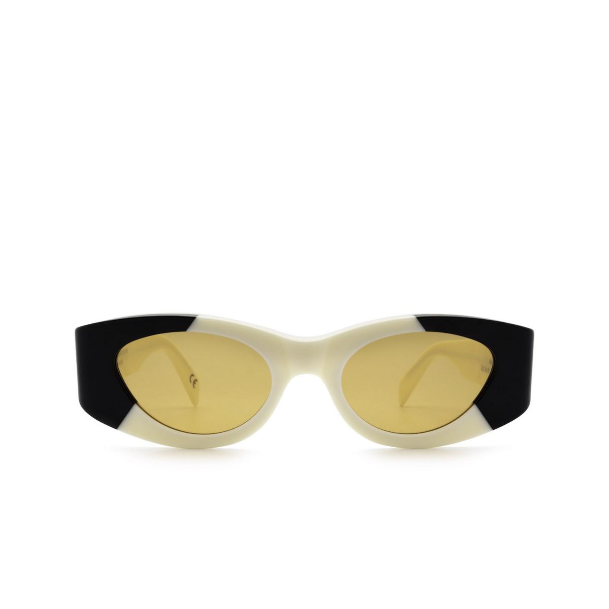 Retrosuperfuture® Oval Sunglasses: Atena color Unione RJ3.