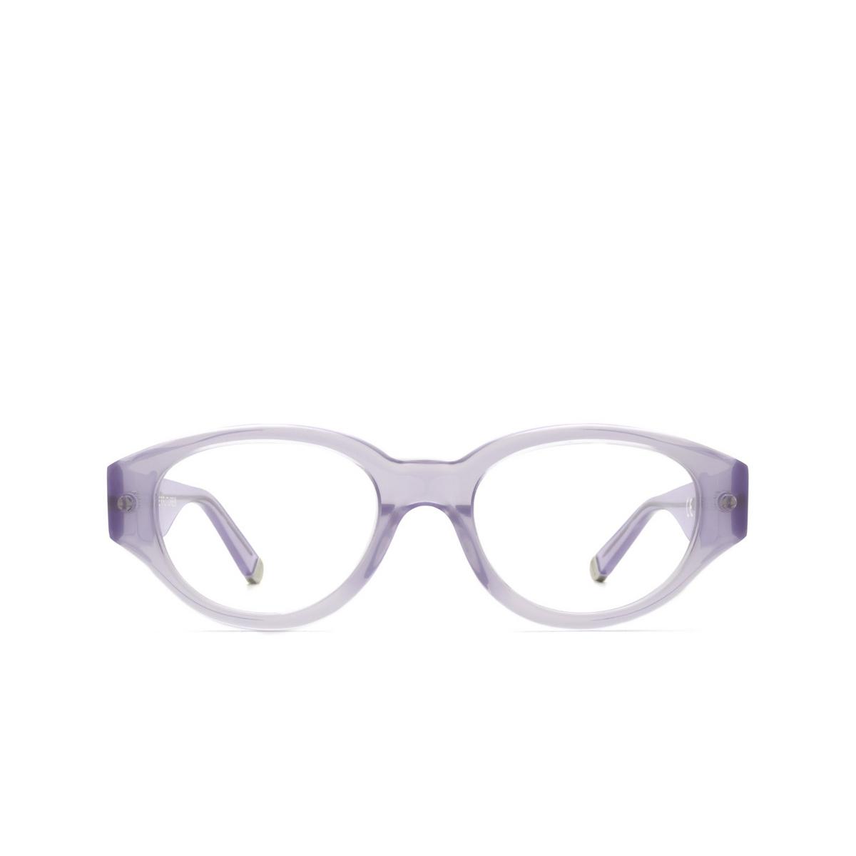 Retrosuperfuture® Oval Eyeglasses: Drew Mama Optical color Dea 7JA - front view.