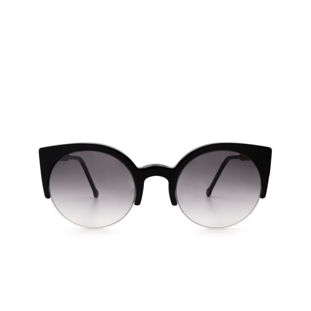 Retrosuperfuture® Cat-eye Sunglasses: Lucia color Black 283.
